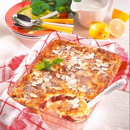 kirsch quark auflauf mit mandelkruste rezept chefkoch rezepte auf kochen backen. Black Bedroom Furniture Sets. Home Design Ideas