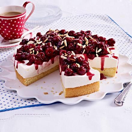 Kirsch Quark Torte Rezept Lecker