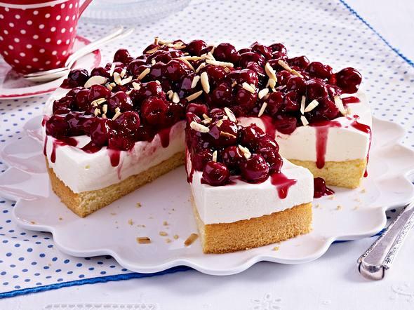 Kirsch-Quark-Torte Rezept