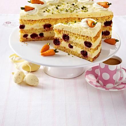 Kirsch-Rübli-Torte Rezept