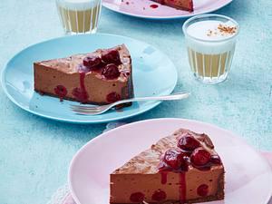 Kirsch-Schokomousse-Torte Rezept