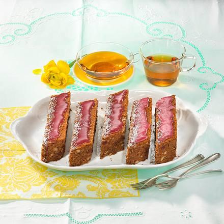 Kirsch-Tee-Blechkuchen Rezept