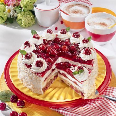 Kirsch-Torte mit Kokos Rezept
