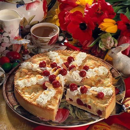 Kirsch-Vanille-Kuchen Rezept