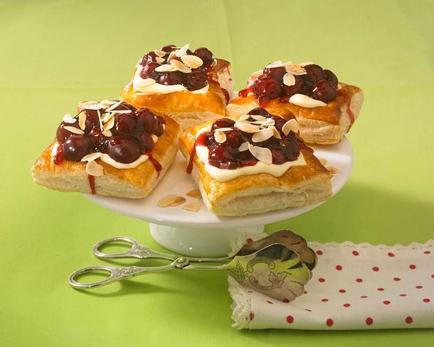 Kirsch-Vanillekissen Rezept