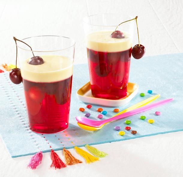 Kirsch-Wackelpeter Rezept