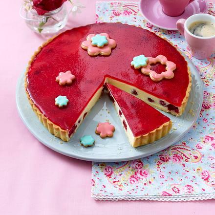 Kirschblüten-Tarte Rezept