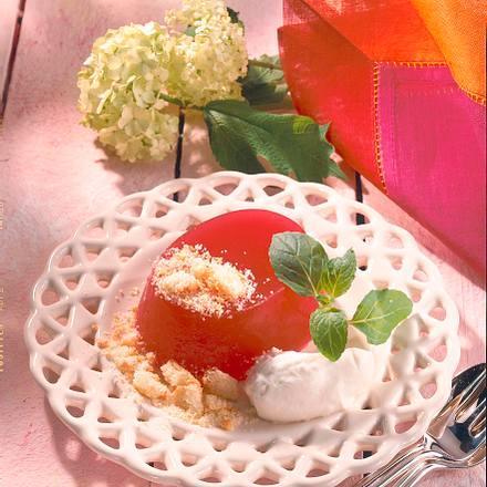 Kirschgelee mit Vanille-Sahne Rezept