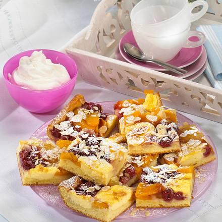 Kirschkuchen vom Blech Rezept