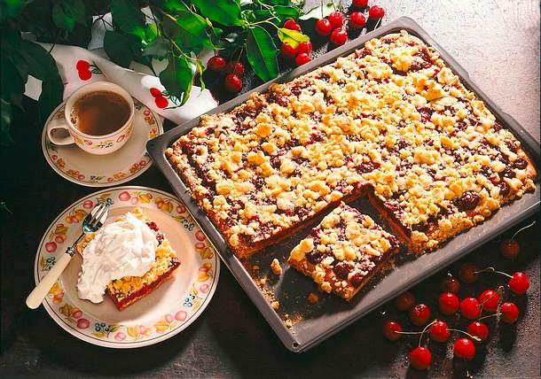 Kirschstreuselkuchen Rezept