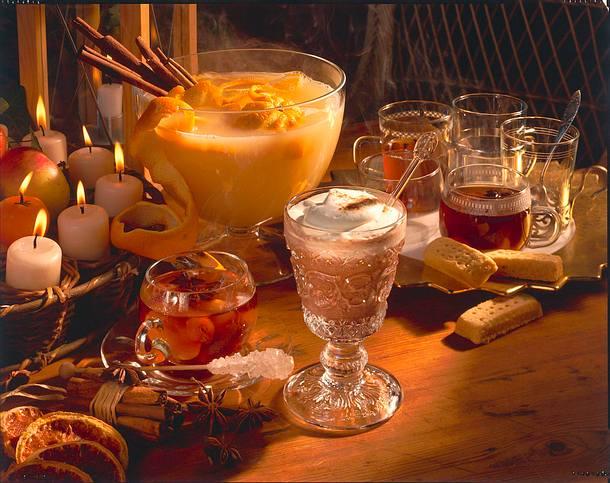 Kirschtee mit Rum Rezept