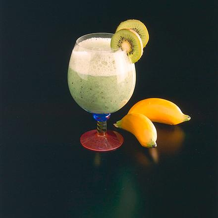 Kiwi-Bananen-Cocktail Rezept
