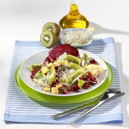Kiwi-Käse-Salat Rezept
