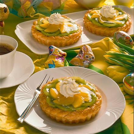 Kiwi-Mango-Törtchen Rezept