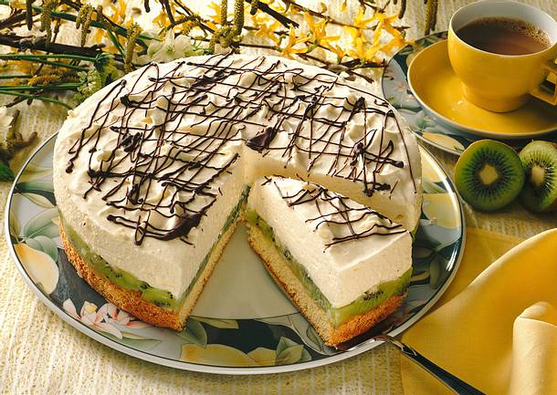 Kiwi-Mascarpone-Torte Rezept