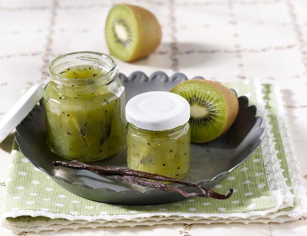 Kiwi-Stachelbeer-Konfitüre Rezept
