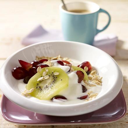 Kiwi-Trauben-Müsli Rezept
