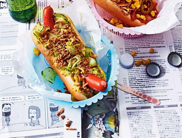 Klassischer Hotdog Rezept
