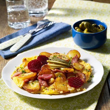 Klassisches Bauernfrühstück Rezept