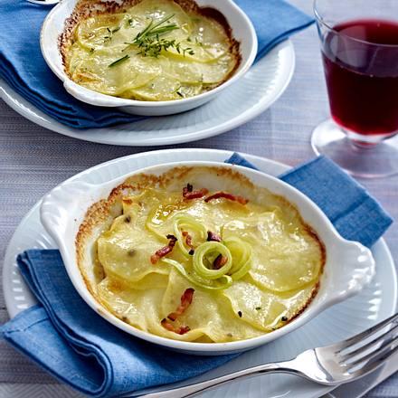 Klassisches Kartoffel-Gratin Rezept