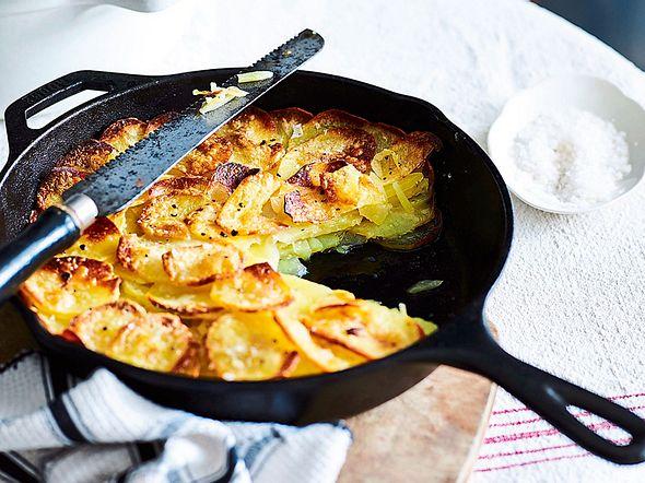 Klassisches Kartoffelgratin Rezept