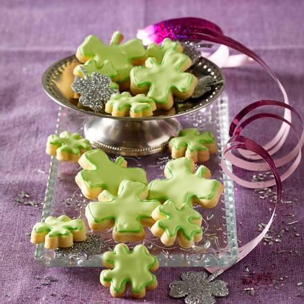 Kleeblatt-Kekse Rezept