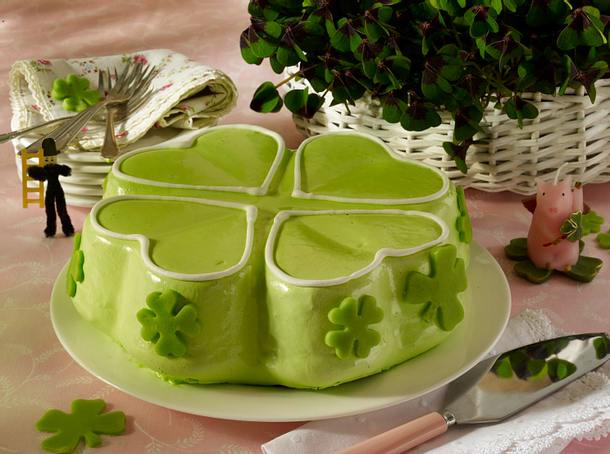 Kleeblatt-Kuchen Rezept