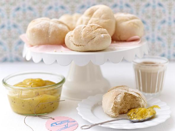 Kleine Baguette-Brötchen Rezept