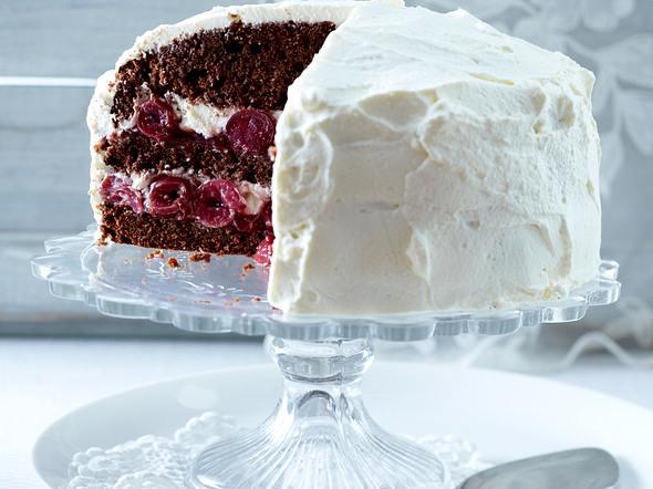 Kleine Black-Forest-Torte Rezept