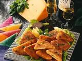 Kleine Käse-Cordon bleu Rezept