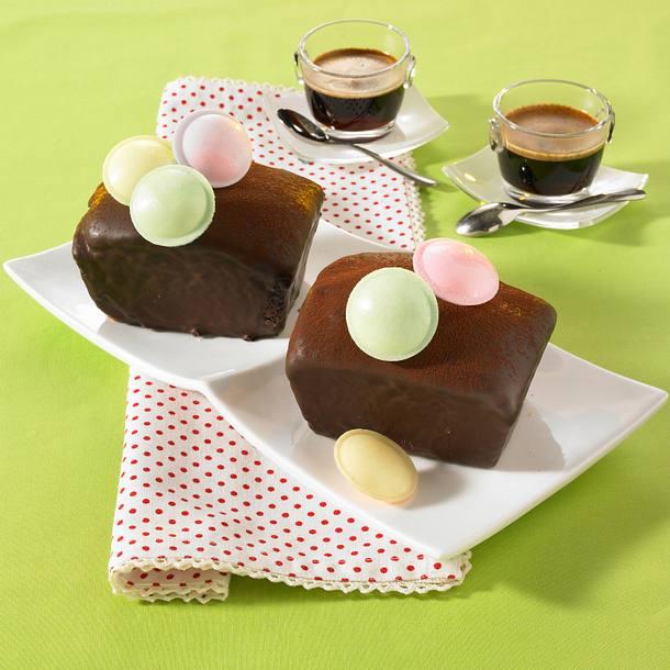 Kleine Schokoladen-Kastenkuchen Rezept