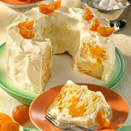 Kleiner Mandarinenkranz Rezept