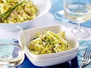 Knackiger Salat mit Makrele Rezept