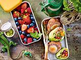 Knackiger Salatwrap Rezept