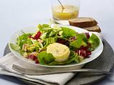 Knackiger Wintersalat mit gebackenen Ziegenkäse Rezept