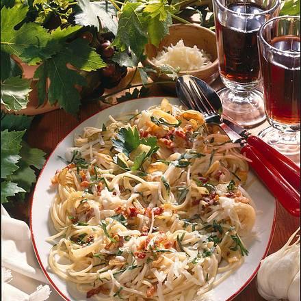 Knoblauchspaghetti Rezept