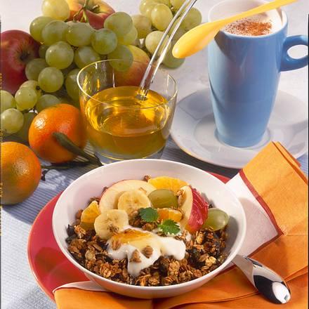 Knusper-Müsli mit Honig-Joghurt Rezept