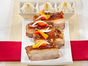 Knusper Schweinebraten Thai-Style Rezept