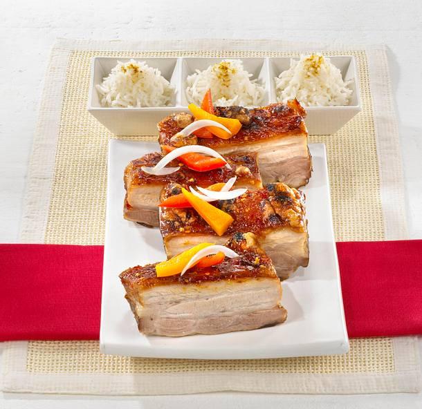 knusper schweinebraten thai style rezept chefkoch rezepte auf kochen backen und. Black Bedroom Furniture Sets. Home Design Ideas