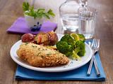 Knusperhähnchen mit Brokkoli Rezept