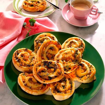 Knusprige Aprikosenschnecken Rezept
