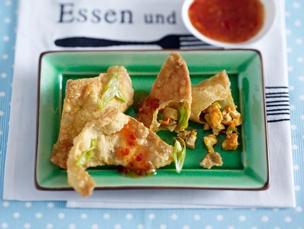 Knusprige Hähnchen Wan Tan Rezept