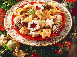 Knusprige Mürbeteig-Kekse Rezept