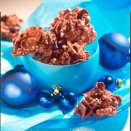 Knusprige Schoko-Flakes (Diabetiker) Rezept