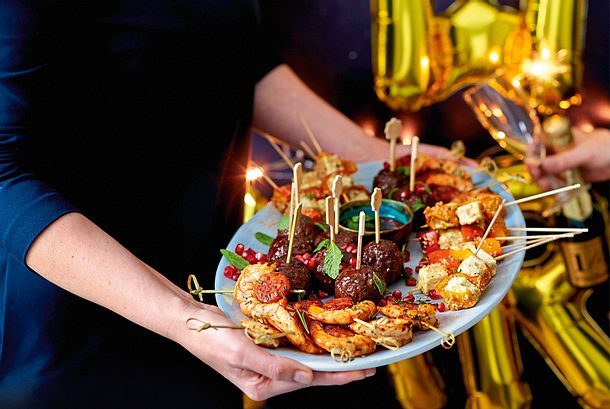 Köfte mit Granatapfelkonfetti Rezept