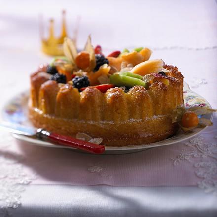 Königskuchen mit Obst Rezept
