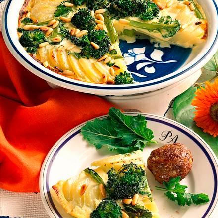 Kohlrabi-Broccoli-Gratin Rezept