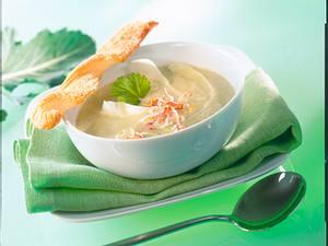 Kohlrabi-Ingwer-Suppe Rezept