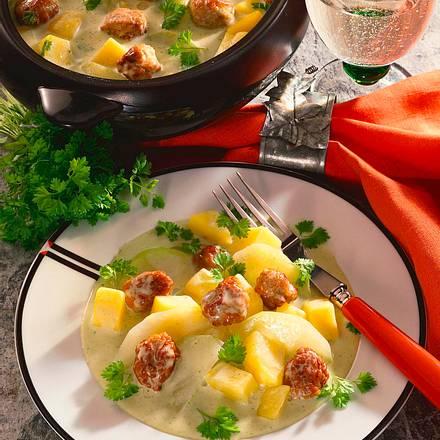 Kohlrabi-Kartoffel-Ragout Rezept