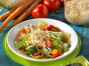 Kohlsuppe mit Reis (Kohlsuppendiät) Rezept